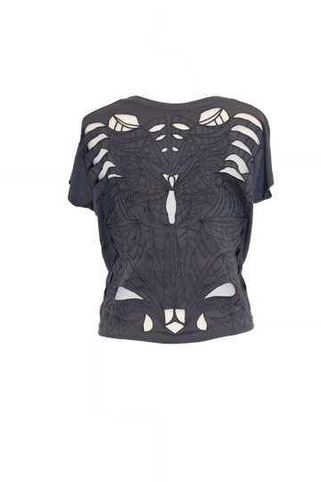 Anthracite Cut-Out Top