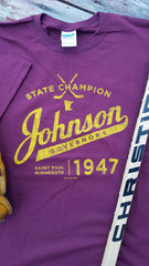 1947 St. Paul Johnson Governors State Hockey Champions
