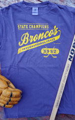 1957 International Falls Broncos State Hockey Champions