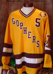 1959-1960 Minnesota Gophers Hockey Jersey