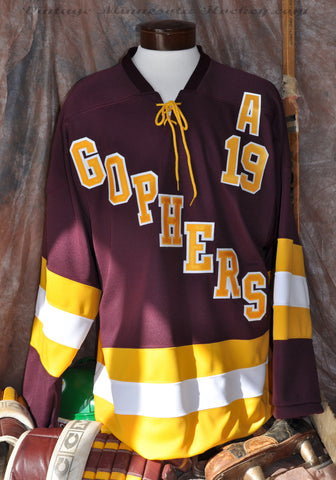 1960-1961 / 2013 Hockey City Classic Minnesota Gophers Away Jersey