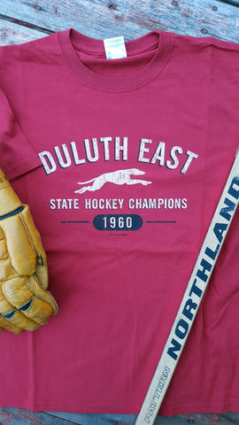 1960 Duluth East Greyhounds State Hockey Champions