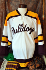 1960 Era Minnesota Duluth Bulldogs Hockey Jersey