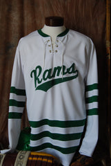 1962/2007 Roseau Rams High School Hockey Jersey