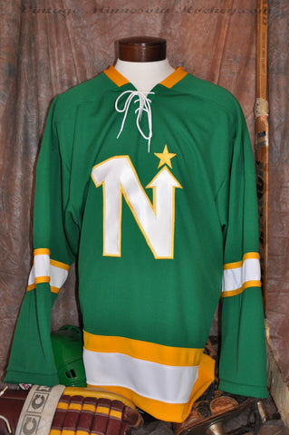 1967 Pre-Season Minnesota North Stars Home Hockey Jersey
