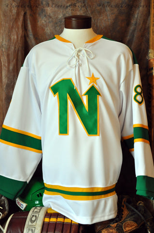 1967 Pre-Season Minnesota North Stars Away Hockey Jersey
