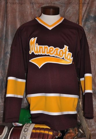 1969-1972 Minnesota Gophers Away Hockey Jersey