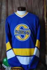 1972 Authentic Fighting Saints Away Hockey Jersey