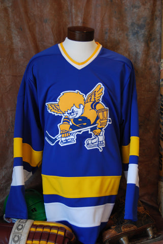 1972-1976 Authentic Fighting Saints Away Hockey Jersey