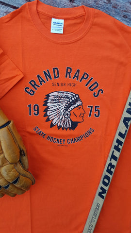 1975 Grand Rapids Indians State Hockey Champions