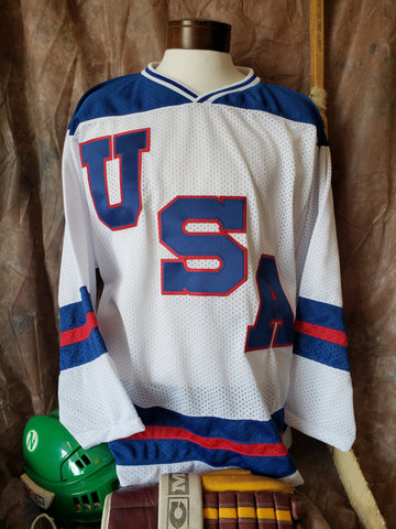 1980 Team USA Pre-Olympic Home Jersey