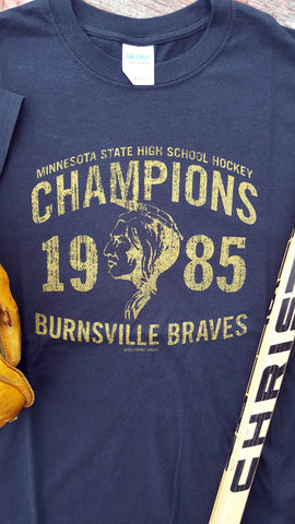 1985 Burnsville Braves State Hockey Champions