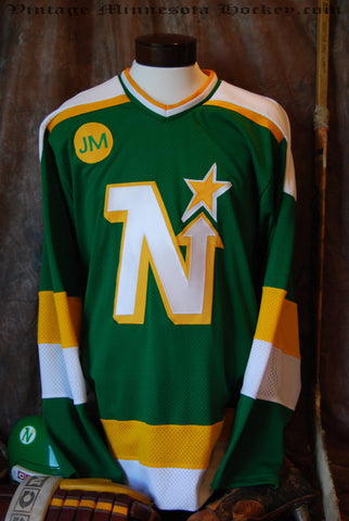 1986-1988 Minnesota North Stars Away Hockey Jersey