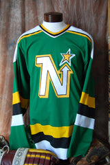 1988-1991 Minnesota North Stars Away Hockey Jersey