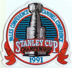1991 Stanley Cup Finals Authentic Patch