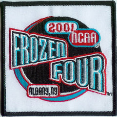 2001 Frozen Four Authentic Hockey Patch