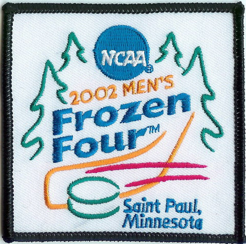 2002 Frozen Four Authentic Hockey Patch