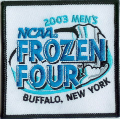 2003 Frozen Four Authentic Hockey Patch