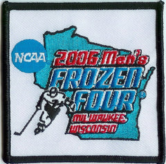 2006 Frozen Four Authentic Hockey Patch
