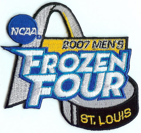 2007 Frozen Four Authentic Hockey Patch