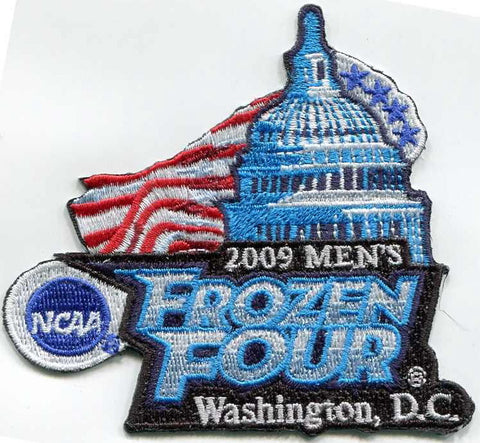 2009 Frozen Four Authentic Hockey Patch