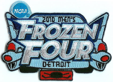 2010 Frozen Four Authentic Hockey Patch