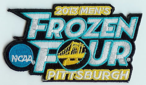 2013 Frozen Four Authentic Hockey Patch