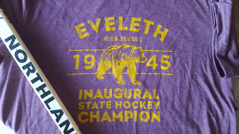 1945 Eveleth Golden Bears State Hockey Champions