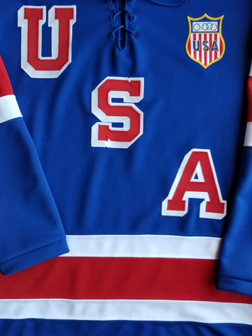 1960 Team USA Olympic Hockey Jersey