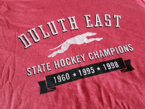 Duluth East Greyhounds State Hockey Champions