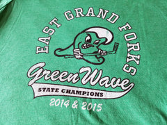 East Grand Forks Greenwave State Hockey Champions