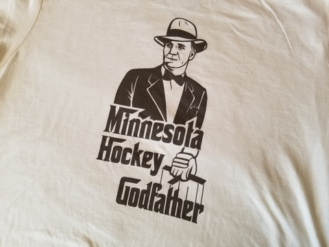 Minnesota Hockey Godfather T-Shirt