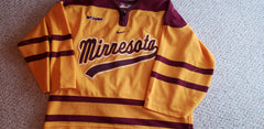 2008 Nike Authentic Game Issued Gophers Alternate Jersey