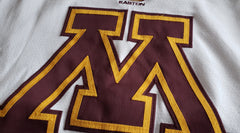 2005-2006 Easton Authentic Game Issued Gophers Home Jersey