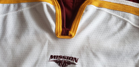 2003-2005 Mission Authentic Game Issued Gophers Home Jersey