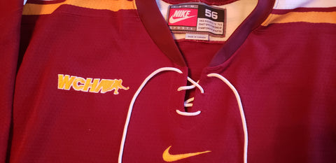 2008-2013 Nike Authentic Game Issued Gophers Away Jersey