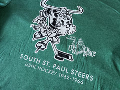 South St. Paul Steers (1962-1966 USHL) t-shirt
