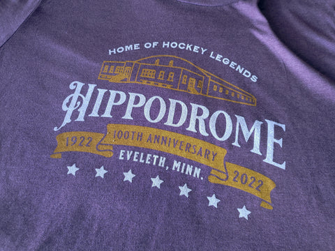 Eveleth Hippodrome 100th Anniversary (1922-2022) T-Shirt