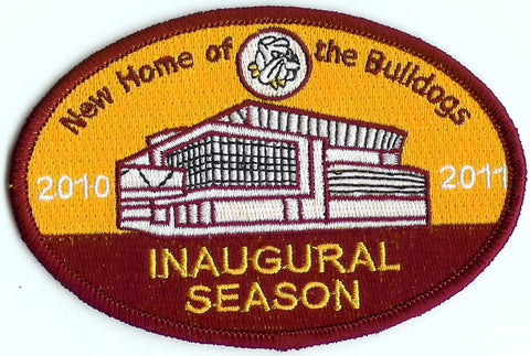 Minnesota Duluth Amsoil Arena Inaugural Patch