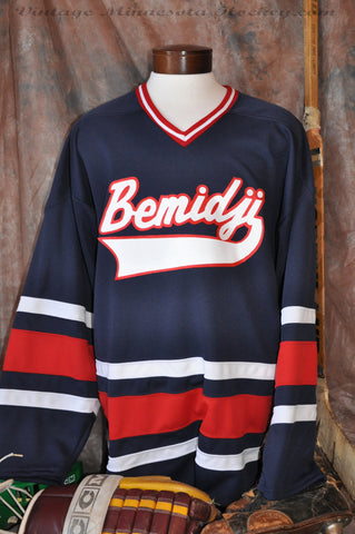 1980's era Bemidji High School Hockey Jersey