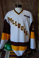 1990 Era Minnesota Duluth Bulldogs Home Jersey