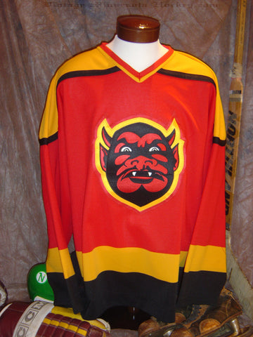 1990-1995 St. Paul Vulcans Away Hockey Jersey