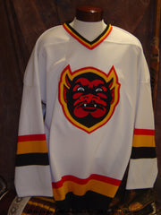 1990-1995 St. Paul Vulcans Home Hockey Jersey