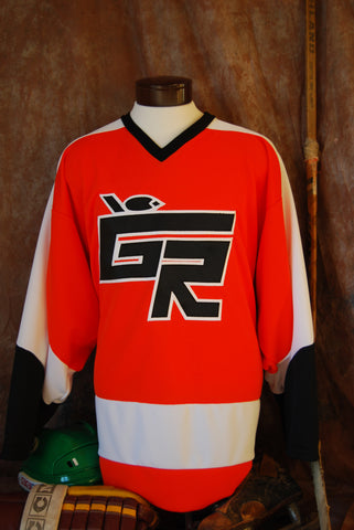 1980-1984 Grand Rapids High School Hockey Jersey