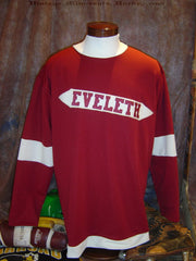 1920 Eveleth Reds Hockey Jersey
