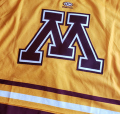 2005-2006 Easton Authentic Game Issued Gophers Alternate Jersey