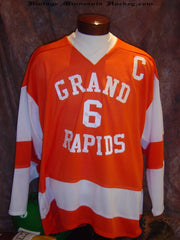 1970's era Grand Rapids High School Hockey Jersey