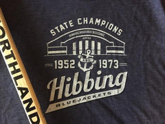 1952 & 1973 Hibbing Bluejackets Memorial Arena State Hockey Champions