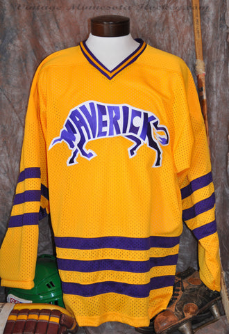 1970-1980 Era Mankato Mavericks Hockey Jersey