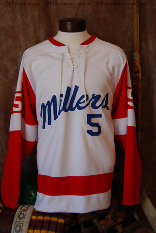 1960 Minneapolis Millers Hockey Jersey